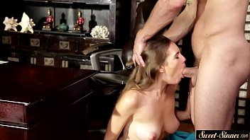 dildo her loves dames claire Black oiled ass ride and bounce on dick