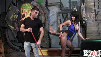 caught pantyhose with jerking Wife gang banged and pissed on