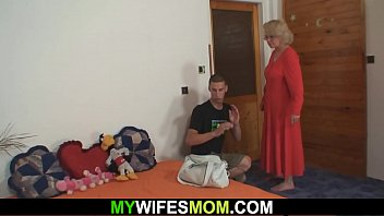 doing sons while mother fucks yoga Man join surprise