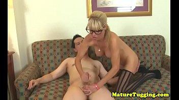 gay weeing wank Cum in moms panties and lick it