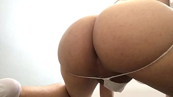 yoga ass housewife Masturbandome con lubricante en mi pija10