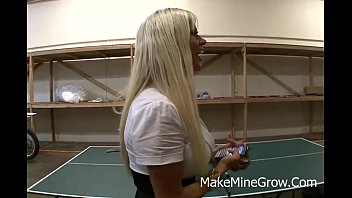 with toys to blonde brittney share got kelle Date with a pornstar