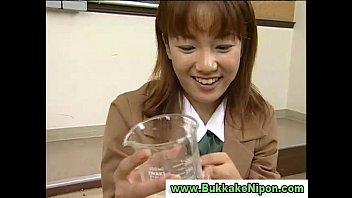 girl amateur cum japanese Young man eats daddy s cum on the stairs