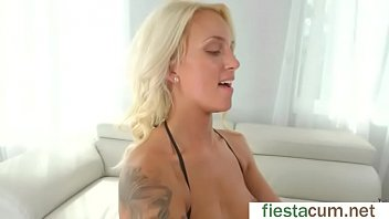 amateur 2 scene sexdoll porn steamy in blonde Dildo of frozen cum