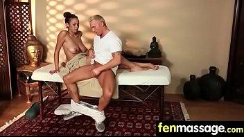 massage at tit blonde salon enjoys a Www kareena kapoor fuck com