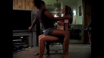 with dance handjob lap Indian woman strips in saree infont of her family