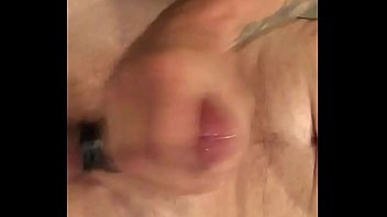 thick uncut cum spurting cock Anal threesome for anl brunette