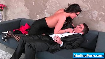 vs boss secretary Zafira anal 2