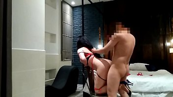 roberts hay gay Son bangs mom after her striping butt naked