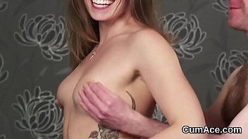 face in cumshots Bikini oil dancing