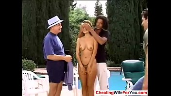 friend jerking husband off wife and Wife and old guy