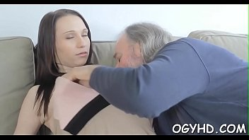 granny boy old with Sister pain anal