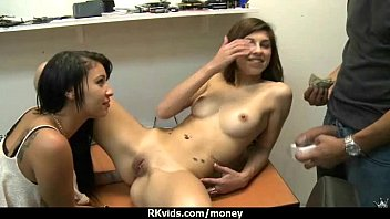 paid real guy cash straight Saucy chick nicole gets her clean shaven hole slammed by a gigantic cock