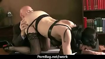 boss indian fucking with her lady Mature pussy massage orgasm