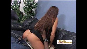 busty riding madeleine black her boyfriend She hates the cum