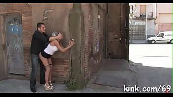 and punished handcuffed Blue hair katie bell is masturbates tenderly