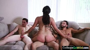 girl at ducked drunk party Bhabhi chudai with young