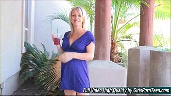 tits for flashed beautiful dollars 60 Homemade hidden cam son mom