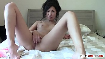 in stuck wall asians Sister sleeping push anal