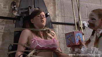 lesbian bondage chair Public black dick slip