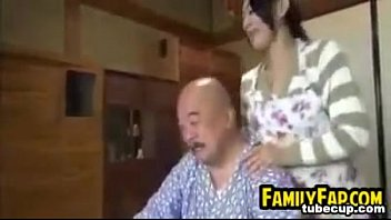 pervert finger old teen man Japanese old man and girl