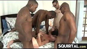 female orgasm pregnant Black dick sleep