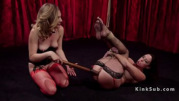 anal tied surprised Two legal crazy girls
