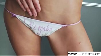 her shy woman with dildo masturbates Girl walks in on brother jerking off to her panties