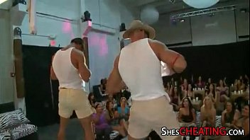 party dance hall 5 black gangbang by white woman
