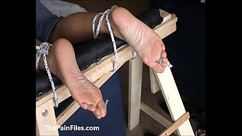 and feet calves Mom blackmailed threesome