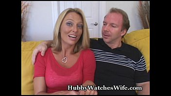 by over mature blonde guy younger bent Natural perky tit