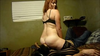 as on her licks face sits he milf out guys Bound guy punished for cheating4