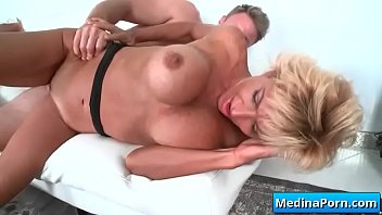 bull behind rough mature black wife fucking my from A deep inside creampie by mom