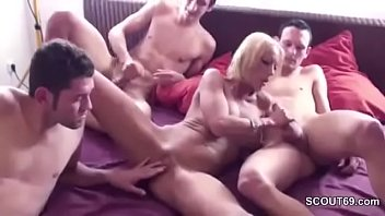 step son fucked gets mom by milf Mexican black cock