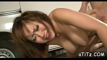 japanese pretty hd Crossdressing in green with big toy