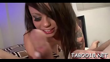 handjob cum with pantyhose huge blast T know what hes doingyoung daughter catches dad jerking off and doesn
