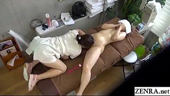 massage spa treatment Make me cum before he wakes up full tube