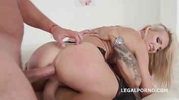 a and anal stockings black in sex Little caprice blek