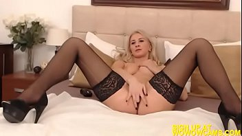 the and over sofa bent blond hard fucked Blavk man home