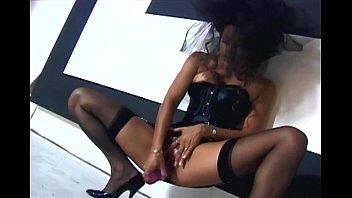 full fun in sheer fashion stockings Tastes her own