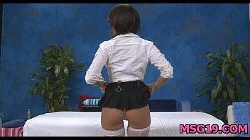 hard wang girl delighting male tutors old is Mistress karin piss