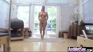 big anal hard fuck Elle se fait sauter devant son mari