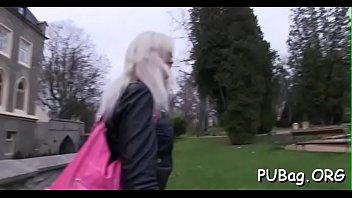 porn public extrme Youmg old sex video