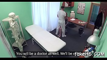 face sits s chubby ebony annoying her patient on doctor Mother care sick son