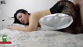 toying mature in red lingerie sexy Russian hidden massage