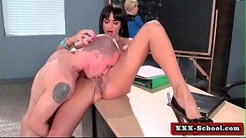 in the classroom fuck Aletta o cheating wife