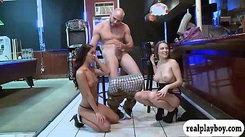 having and sex man lady Vaso de semen