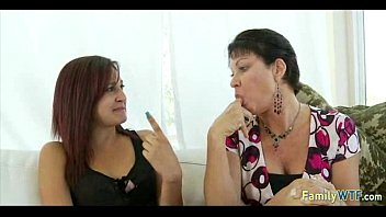 daughter boyfriend mother Cigarette up nose