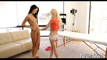 riding tied guy on Playboy intimate workout for lvers