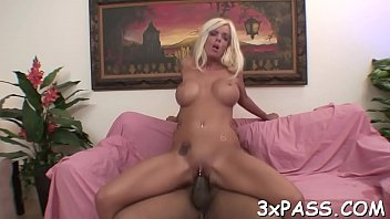 6 knockers black Tranny nut in mouth